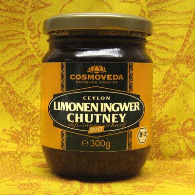 Limonen-Ingwer Chutney