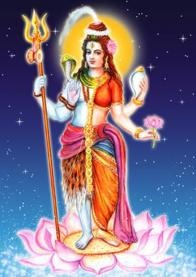 Shiva-Shakti (Ardha-Narishwara)