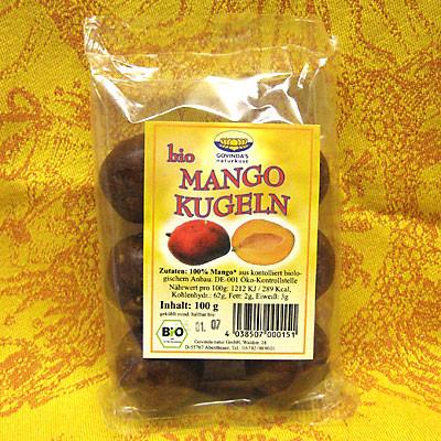 Mango-Bällchen in Bio-Qualität