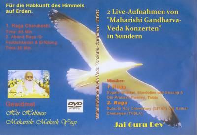 Maharishi Gandharva Veda Live-Konzert (DVD)