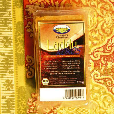 Kokos-Laddus in Bio-Qualität