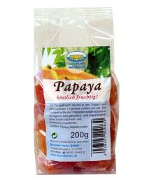 Papayas getrocknet