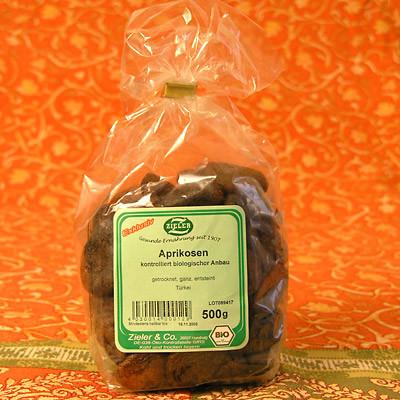 Aprikosen, ganz & in Bio-Qualität