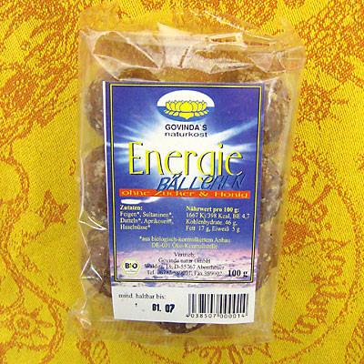 Energie-Bällchen (Datteln-Kokos)