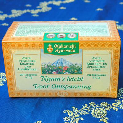 """Ayurvedischer Tee """"Nimms Leicht"""""""