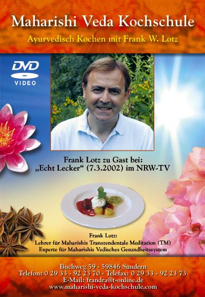 Ayurvedisch Kochen mit Frank Lotz auf DVD Nr. 1