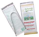 Zungenschaber aus Edelstahl (einfache Ausfertigung)