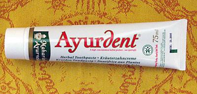 """Ayurvedische Zahnpasta """"Ayurdent""""von MTC"""