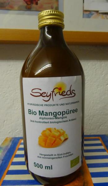 Mango-Püree (Mus.)