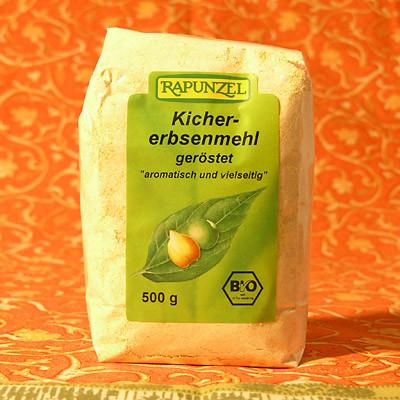 Kichererbsenmehl in Bio-Qualität