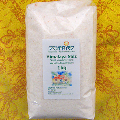 Steinsalz aus den Himalayas
