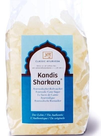 Kandis aus Sharkara, ayurvedischer Rohrzucker