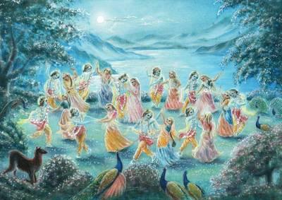 Krishnas Lila-Rasa (Tanz)