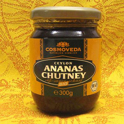 Ananas Chutney in Bio-Qualität